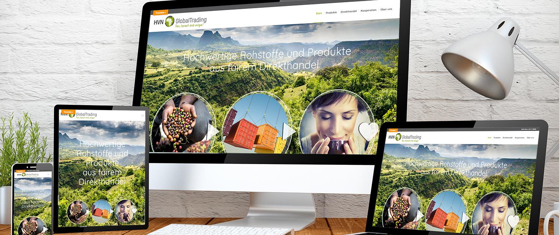 Webseiten von Get On Consult